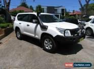 2011 Toyota Landcruiser Prado KDJ150R 11 Upgrade GX (4x4) White Automatic 5sp A for Sale