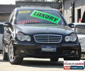 Classic 2006 Mercedes-Benz C230 W203 MY06 Elegance Black Automatic 7sp A Sedan for Sale