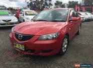2004 Mazda 3 BK Neo Red Manual 5sp M Sedan for Sale