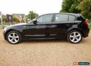 BMW 1 SERIES 2.0 116I SPORT BLACK 63,000 MILES(6 speed) for Sale