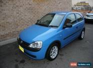 2001 Holden Barina XC Blue Automatic 4sp A Hatchback for Sale