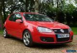 Classic VW Volkswagen Golf 2.0 GTi MK5 3 door 57 plate in red for Sale