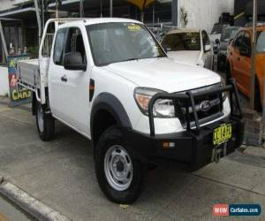 Classic 2010 Ford Ranger PK XL (4x4) White Manual 5sp M Super Cab Pick-up for Sale