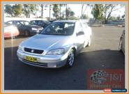 2005 Holden Astra TS MY05 Classic Equipe Silver Automatic 4sp A Sedan for Sale