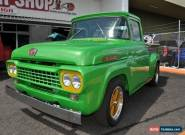 1958 Ford F100 Australian Delivered RHD Utility for Sale