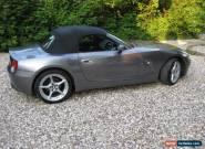 BMW Z4 3.0i manual 2003 for Sale
