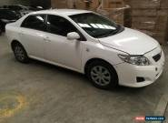 Toyota corolla ascent 2009 automatic 84km l/h front damaged repairable drives  for Sale