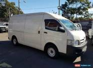 2008 Toyota Hiace KDH221R MY07 Upgrade SLWB White Manual 5sp M Van for Sale