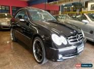 2004 Mercedes-Benz CLK240 C209 Avantgarde Obsidian Black Automatic 5sp A Coupe for Sale