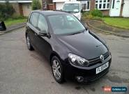 2009 VOLKSWAGEN GOLF SE TSI - BLACK - 5 DOOR HATCH - VW - 6 SPEED MANUAL - MOT - for Sale