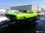 Plymouth : Barracuda Coupe for Sale