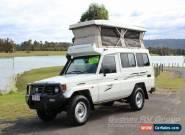 2006 Toyota Landcruiser White Manual M Motor Camper for Sale