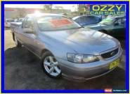 2003 Ford Falcon BA XLS Silver Automatic 4sp A Utility for Sale