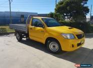 2012 Toyota Hilux KUN16R MY12 Workmate Yellow Manual 5sp M for Sale