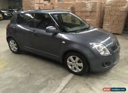 suzuki swift 2010 S 5dr grey hatch 5spd damage repairable drives easy repair  for Sale