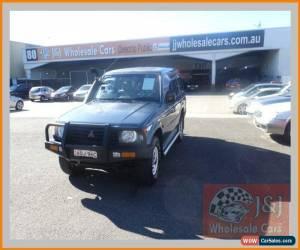 Classic 1993 Mitsubishi Pajero NH GLX LWB (4x4) Blue Manual 5sp M Wagon for Sale