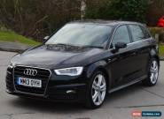 2013 13 AUDI A3 2.0 TDI S LINE 5D 150 BHP DIESEL for Sale