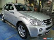 2008 Mercedes-Benz ML63 W164 MY09 AMG Zircon Silver Automatic 7sp A Wagon for Sale