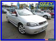 2003 Holden Astra TS Convertible Silver Automatic 4sp A Convertible for Sale
