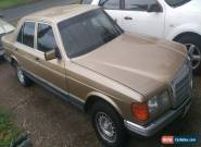 1981 W126 Series, Mercedes Benz 280 SE for Sale