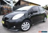 Classic 2009 Toyota Yaris NCP91R 08 Upgrade YRX Black Automatic 4sp A Hatchback for Sale