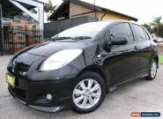 2009 Toyota Yaris NCP91R 08 Upgrade YRX Black Automatic 4sp A Hatchback for Sale