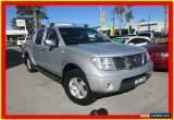 Classic 2006 Nissan Navara D40 ST-X Silver Automatic 5sp A 4D UTILITY for Sale