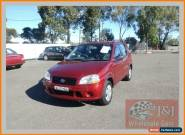2001 Suzuki Ignis GL Burgundy Manual 5sp M Hatchback for Sale