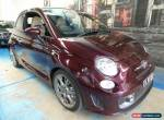 2013 Abarth 695 Series 1 Edizione Maserati MTA Burgundy Automatic 5sp A for Sale