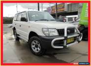 1999 Toyota Landcruiser Prado VZJ95R RV6 White Automatic 4sp A Wagon for Sale