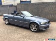 2003 BMW 318 CI BLUE CONVERTIBLE  for Sale