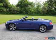 2007 BMW M6 BLUE for Sale