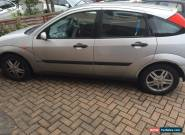 Ford Focus Zetec 1.8 Silver Spares Or Repairs for Sale