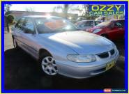 2000 Holden Commodore Vtii Executive Silver Automatic 4sp A Sedan for Sale
