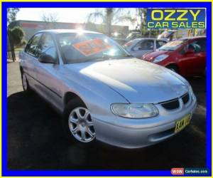 Classic 2000 Holden Commodore Vtii Executive Silver Automatic 4sp A Sedan for Sale