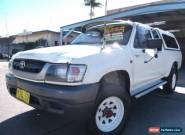 2002 Toyota Hilux LN172R (4x4) White Manual 5sp M Extracab for Sale