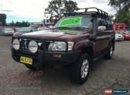 2006 Nissan Patrol GU IV ST-L (4x4) Burgundy Automatic 5sp A Wagon for Sale