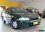 2001 Mitsubishi Mirage CE Green Automatic 4sp A Hatchback for Sale