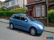 2002 FORD FOCUS LX BLUE for Sale