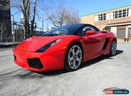 2007 Lamborghini Gallardo Lamborghini Gallardo Spyder 6 speed for Sale