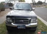 2006 Ford Courier PH XLT (4x4) Black Manual 5sp M Super Cab Pick-up for Sale