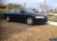 mitsubishi lancer 2002 four door black for Sale