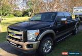 Classic 2011 Ford F-250 KING RANCH FULLY LOADED for Sale