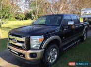 2011 Ford F-250 KING RANCH FULLY LOADED for Sale