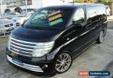 Classic 2004 Nissan Elgrand E51 Black Automatic 5sp A Wagon for Sale