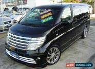 2004 Nissan Elgrand E51 Black Automatic 5sp A Wagon for Sale