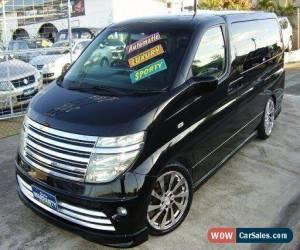 Classic 2004 Nissan Elgrand E51 Black Automatic 5sp A Wagon for Sale