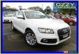 Classic 2013 Audi Q5 8R MY13 2.0 TDI Quattro White Automatic 7sp A Wagon for Sale