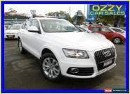2013 Audi Q5 8R MY13 2.0 TDI Quattro White Automatic 7sp A Wagon for Sale