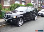 2001 BMW X5 AUTO BLACK 3L PETROL 94K MILES 12 MOT SUNROOF AIRCON NICE DRIVE PX for Sale